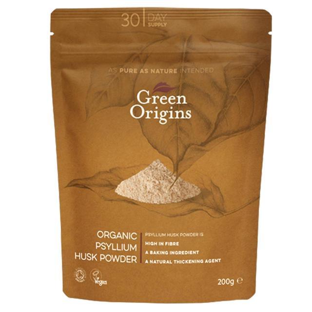 Green Origins Organic Psyllium Husk Powder 200g From Ocado