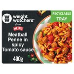 Heinz Weight Watchers Meatball Penne, Spicy Tomato Sauce