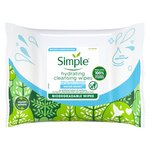 Simple Water Boost Cleansing Wipes