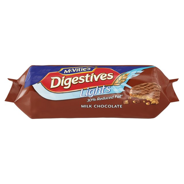 McVitie's Digestives Milk Chocolate Light