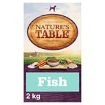 Natures Table Dog Complete Dry Adult White Fish with Rice & Vegetables