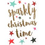 Caroline Gardner Sparkly Christmas Time Cards