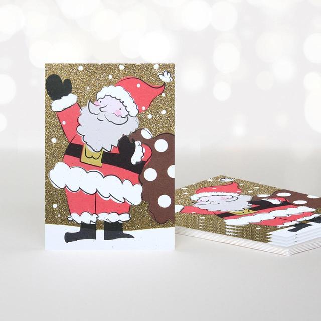 caroline gardner father christmas card pack - Christmas Card Packs