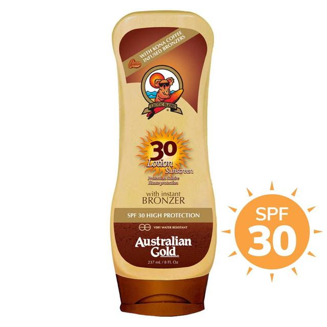 Australian Gold SPF 30 Lotion With Instant Bronzer