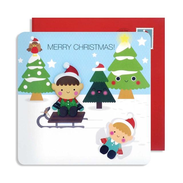 jolly jellies elf christmas card - Elf Christmas Card