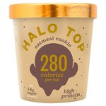 Halo Top Oatmeal Cookie Low Calorie Ice Cream