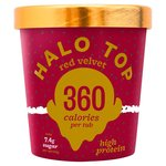 Halo Top Red Velvet Low Calorie Ice Cream