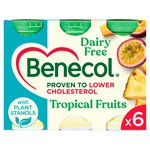 Benecol Cholesterol Lowering Yogurt Drink Dairy Free Tropical
