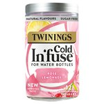Twinings Cold In'fuse Rose Lemonade, 12 Infusers