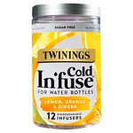Twinings Cold In'fuse Lemon, Orange & Ginger, 12 Infusers
