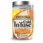 Twinings Cold In'fuse Coconut, Pineapple & Green Tea , 12 Infusers