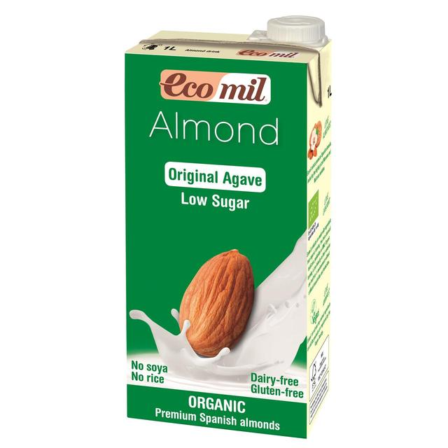 Ecomil Organic Low Sugar Almond Drink