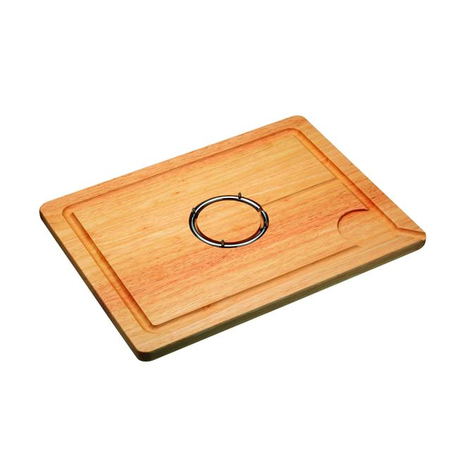 KitchenCraft Spiked Wooden Carving / Chopping Board