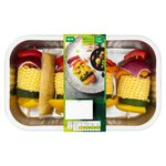 WR 4 Corn & Vegetable Kebabs