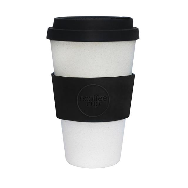 Ecoffee Cup - Black Nature 14oz