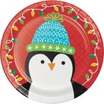 Friends Of Santa Paper Plate