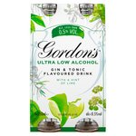 Gordon's Low Alcohol Gin & Tonic Drink With A Hint of Lime