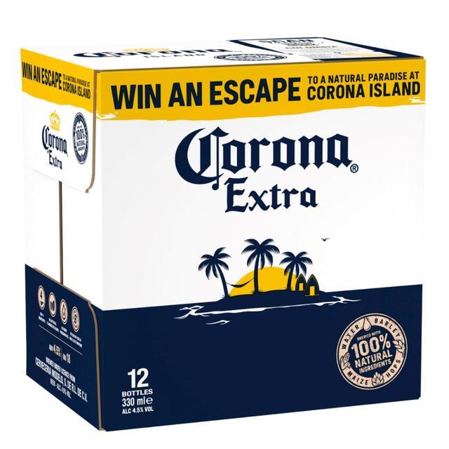 Corona Extra 12 X 330ml From Ocado