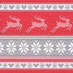 Christmas Knit 3ply Paper Napkins, 33cm