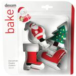 Santa Cookie Cutter Set