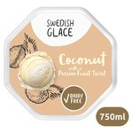 Swedish Glace Soy Non Dairy Coconut & Passion Fruit Swirl Ice Cream