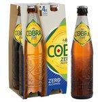 Cobra Zero Extra Smooth Premium Alcohol Free Beer