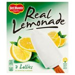 Del Monte Real Lemonade Lolly
