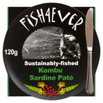 Fish 4 Ever Sardine Pate with Organic Kombu Seaweed