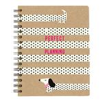Sausage Dogs A5 Tabbed Notebook Organiser
