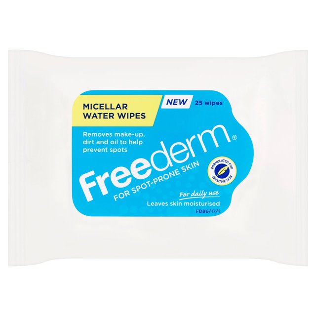 Freederm Micellar Water Wipes