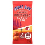 Indie Bay Snacks Spelt Pretzel Bites Smokin' BBQ - single serve