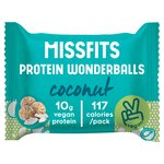 MissFits Nutrition Coconut Vegan Protein Wonderballs