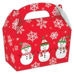 Gable Snowman Cardboard Box