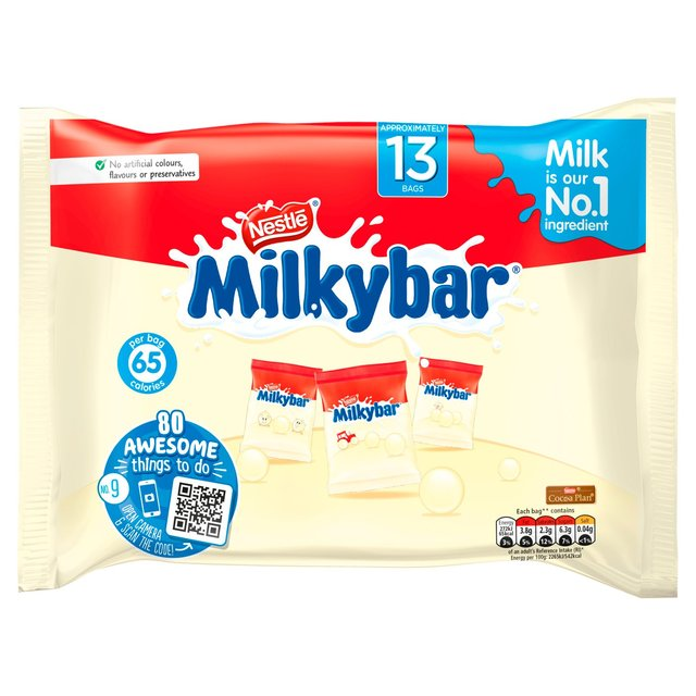 Milkybar 13 White Chocolate Treat Size Bags Ocado