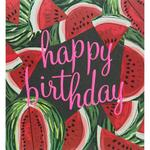 Caroline Gardner Watermelon Happy Birthday Card