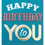 Caroline Gardner Happy Birthday To You Card