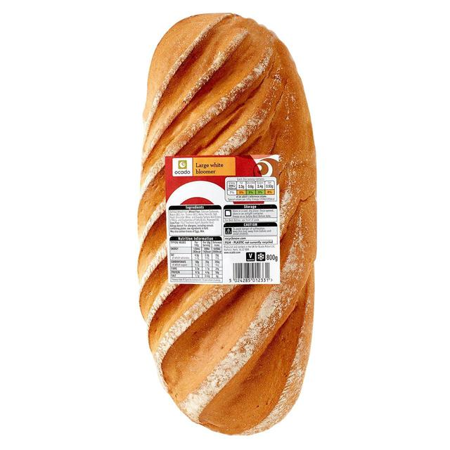 Ocado Large White Bloomer