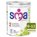 SMA Organic Follow-on Milk from 6 months