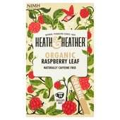Heath & Heather Organic Raspberry Leaf
