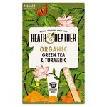 Heath & Heather Organic Green Tea & Turmeric