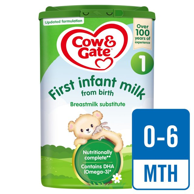 Cow /& Gate 1 First Baby Milk Formula Sachets