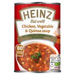 Heinz Eat Well Chicken, Vegetable & Quinoa Soup