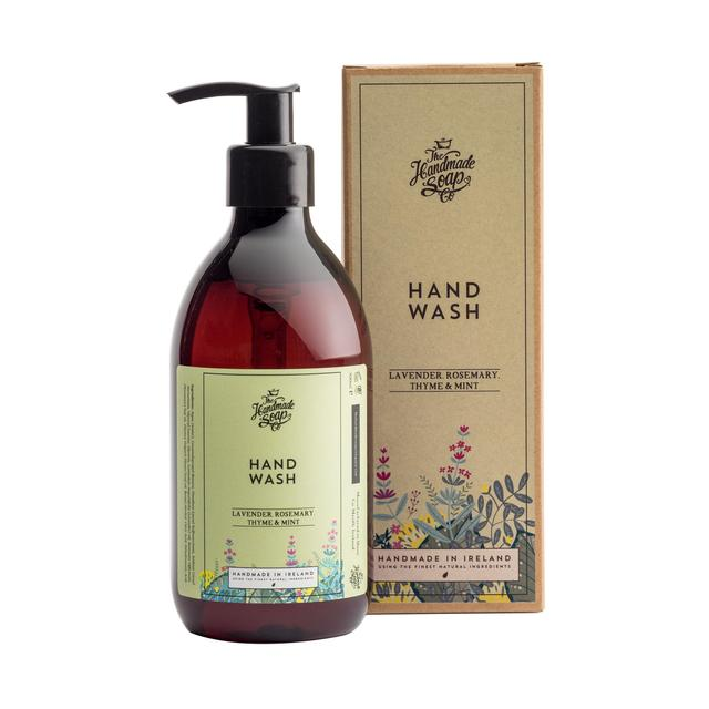 The Handmade Soap Co Hand Wash Lavender, Rosemary, Thyme & Mint