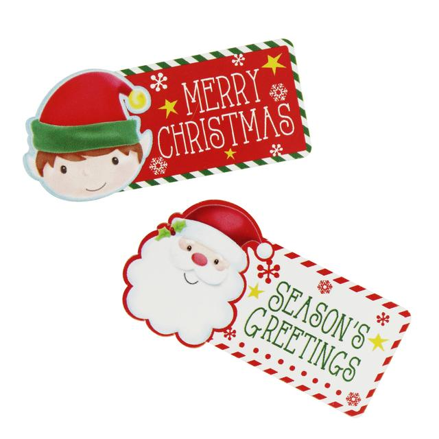 santa elf christmas card holders - Elf Christmas Card
