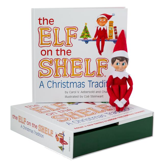 The Elf on the Shelf Boy Elf