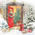 A Warm Welcome Christmas Acetate Boxed Cards