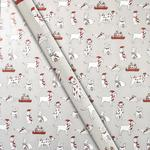 Waitrose Christmas Dog Giftwrap Roll