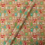Tom Smith Kraft Characters Giftwrap Roll