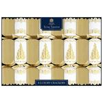 Tom Smith Gold & Cream Luxury Christmas Crackers