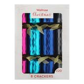 Waitrose Fantasia Faceted Christmas Crackers
